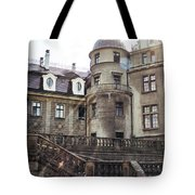 Sunlight On Moszna Tote Bag
