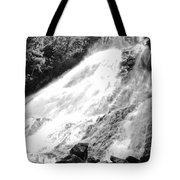 Sunlight Over The Falls Tote Bag