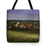 Sunlight Over The Loire Valley Tote Bag