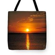 Sunlight Path Tote Bag
