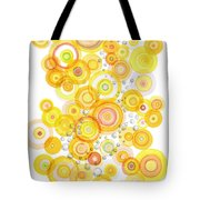 Sunlight Ripples Tote Bag