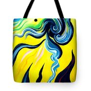 Sunlight, To Erase The Negative Energy Tote Bag
