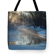 Sunlit Creek  Tote Bag
