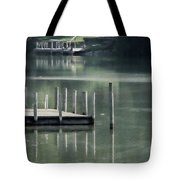 Sunlit Dock Tote Bag