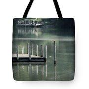 Sunlit Dock Tote Bag