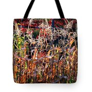 Sunlit Fall Corn Tote Bag