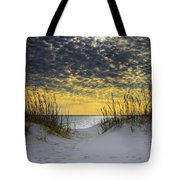 Sunlit Passage Tote Bag