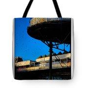 Sunlit Pier Tote Bag
