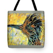 Sunlit Roadrunner Tote Bag
