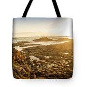 Sunlit Seaside Tote Bag