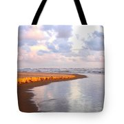 Sunlit Shores Tote Bag