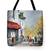 Sunlit Sidewalk - Neshkoro Tote Bag