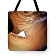 Sunlit Slot Canyon Tote Bag
