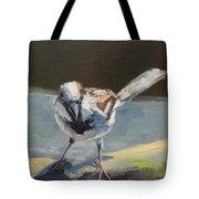 Sunlit Sparrow Tote Bag
