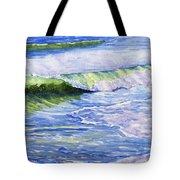 Sunlit Surf Tote Bag