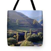 Sunlit Valley  Tote Bag