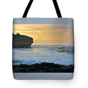 Sunlit Waves - Kauai Dawn Tote Bag