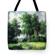 Sunny Afternoon In The Meadows Tote Bag by Isabella Howard