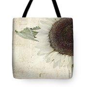 Sunny Albino Sunflower Tote Bag