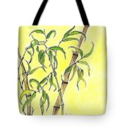 Sunny Bamboo Tote Bag