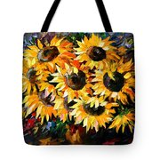 Sunny Bouquet Tote Bag