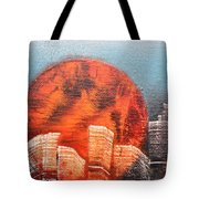 Sunny Buildings Tote Bag
