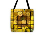 Sunny Composition Tote Bag