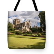Sunny Day At Hexham Abbey Tote Bag