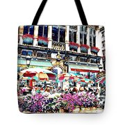 Sunny Day On The Grand Place Tote Bag