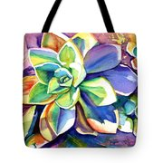 Sunny Day Succulent Tote Bag