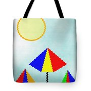 Sunny Days At The Beach Tote Bag