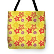 Sunny Flowers Tote Bag by Becky Herrera
