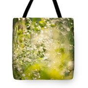 Sunny Grass After The Rain Tote Bag