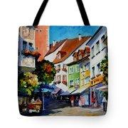 Sunny Meersburg - Germany Tote Bag