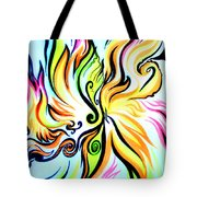 Sunny Morning. Abstract Vision Tote Bag