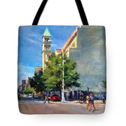 Summer Morning Near St. Michael's Church, Amsterdam Ave. Tote Bag