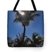 Sunny Palm Tote Bag