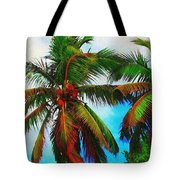 Sunny Palms Tote Bag
