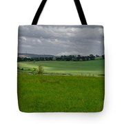 Sunny Patches On The Field. Tote Bag