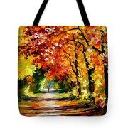 Sunny Path Tote Bag