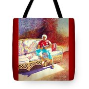 Sunny Retreat 3 Tote Bag by Kathy Braud