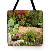 Sunny Rock Garden Tote Bag