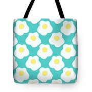 Sunny Side Up Eggs- Art By Linda Woods Tote Bag