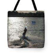 Sunny Ski Tote Bag