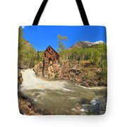 Sunny Skies Over The Crystal Mill Tote Bag