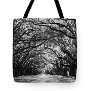 Sunny Southern Day - Black And White Tote Bag