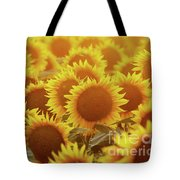 Sunny Sunflower Sunset Tote Bag