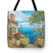 Sunny Villa Tote Bag