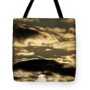 Sunny With Chance Of Clouds Tote Bag