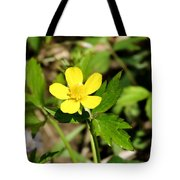 Sunny Yellow Buttercup Tote Bag